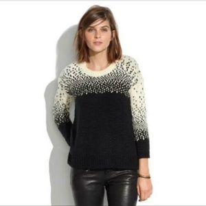 Madewell Drift Stitch 3/4 sleeve sweater